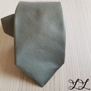 NWT Michael Kors Tie Light Green Textured Classic